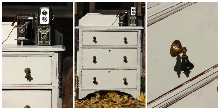 primitive dresser.