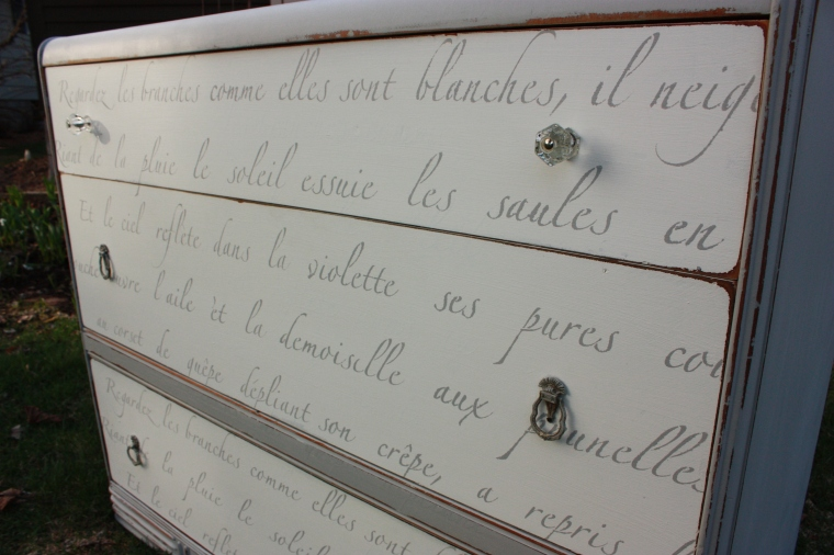 French poem dresser no. 1