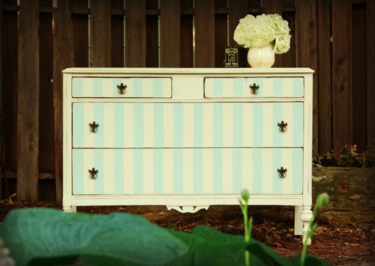 striped dresser no. 1
