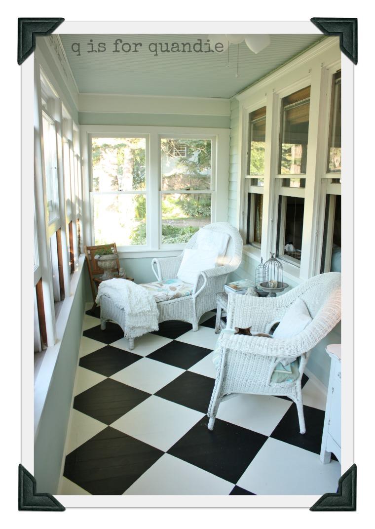 front porch floor