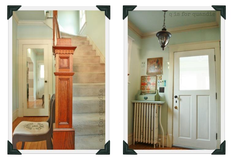 hallway collage