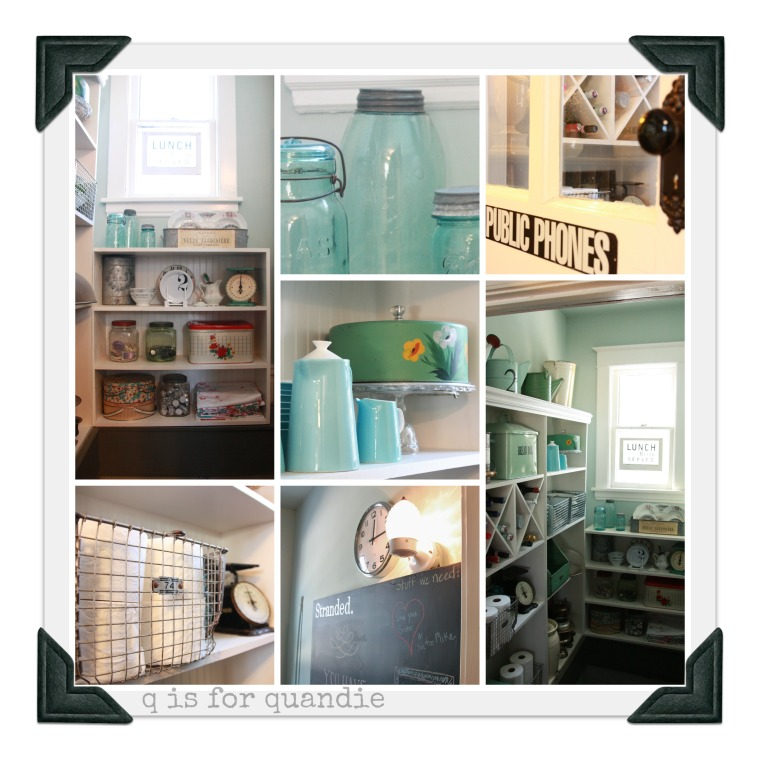 pantry tour collage