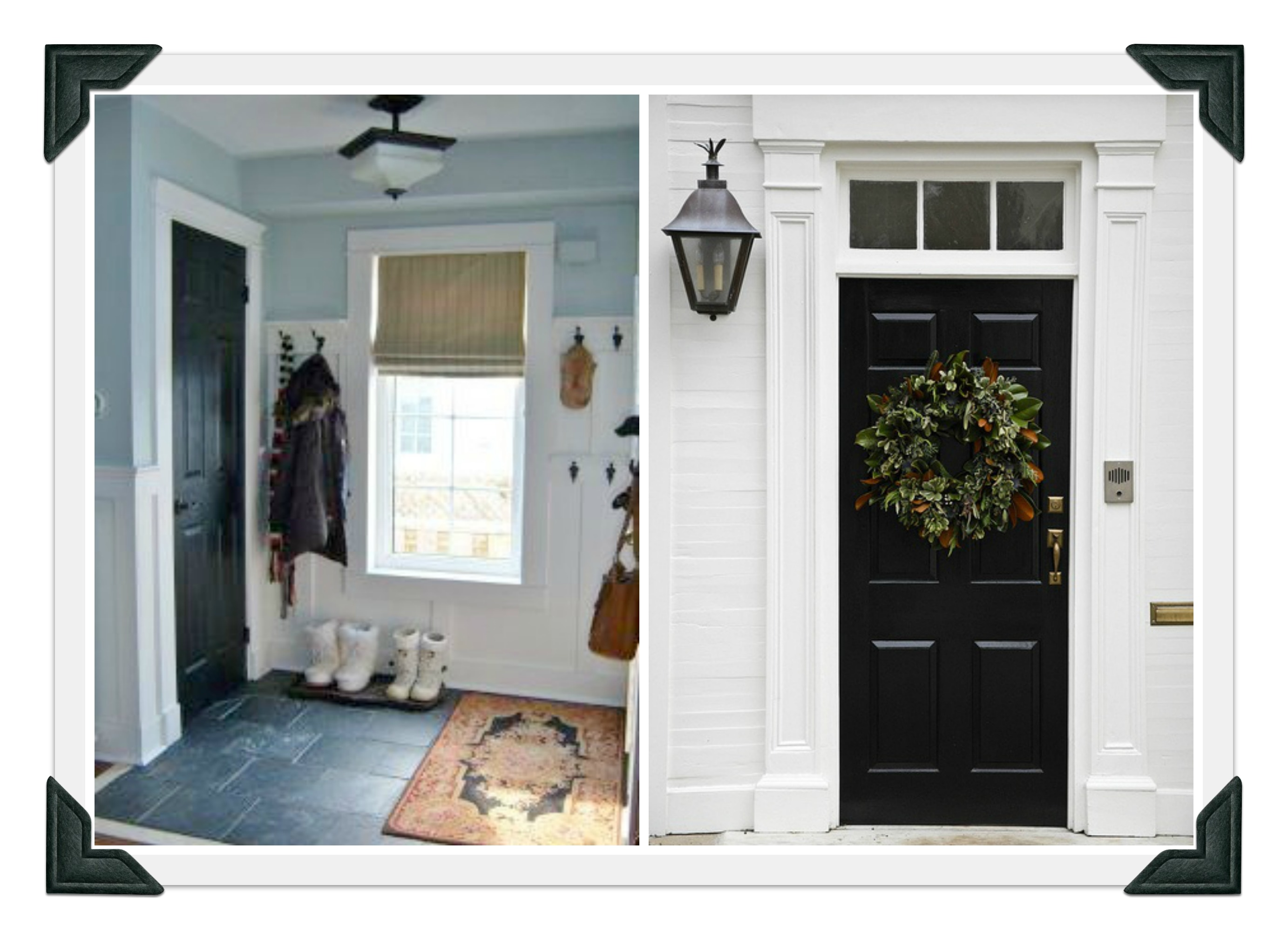 Doors and wreaths on pinterest dutch door front doors for Transom windows