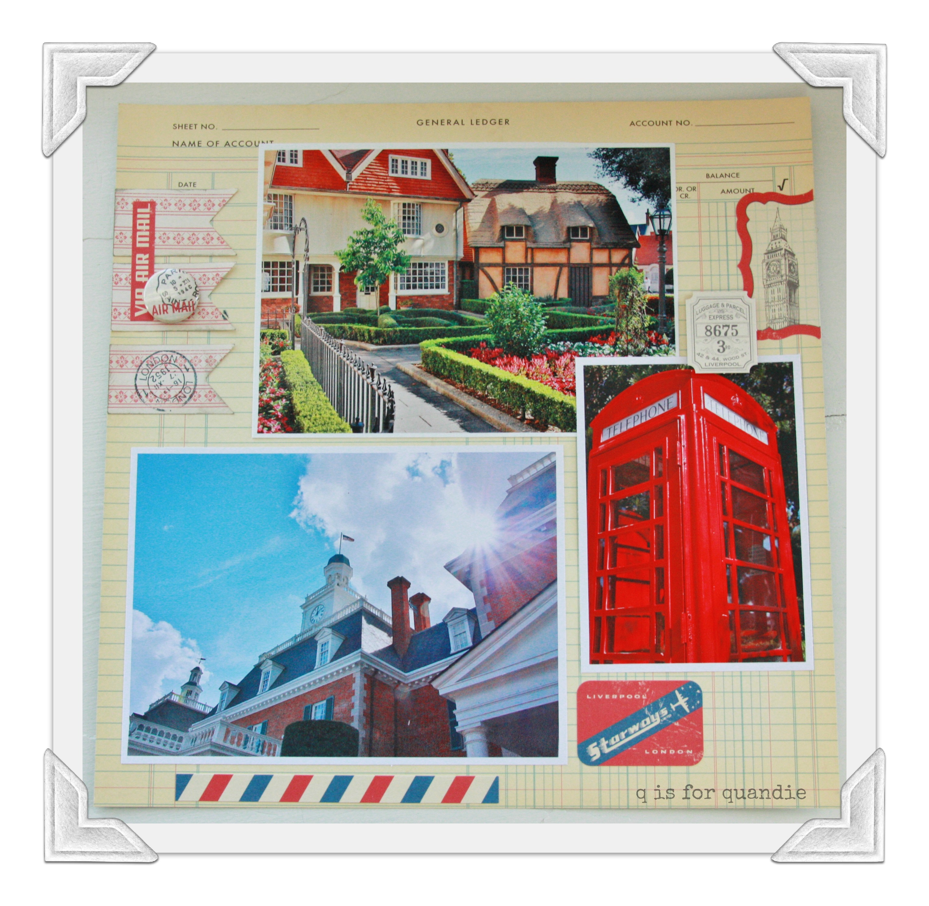 Scrapbook paper england theme - Over The Course Of A Weekend I Created 42 Pages I Didn T Quite Get The Whole Trip Done But I Came Close I D Like To Say That I Will Continue To Work