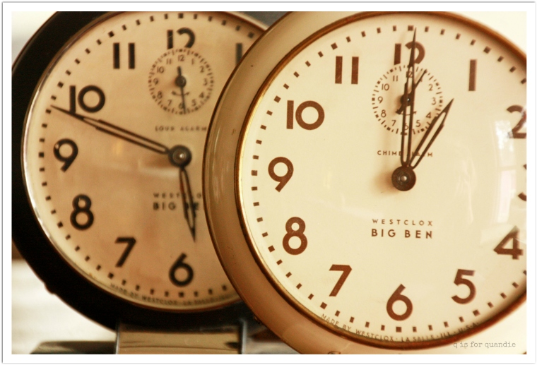clocks 5