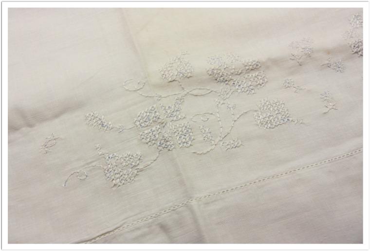 diamond path pillowcase