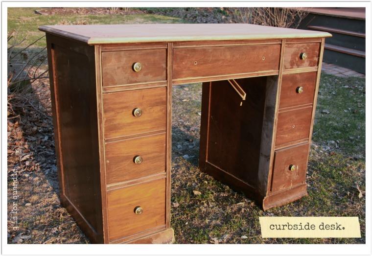 workshop curbside desk