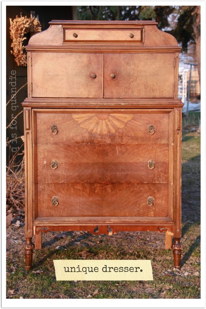workshop dresser