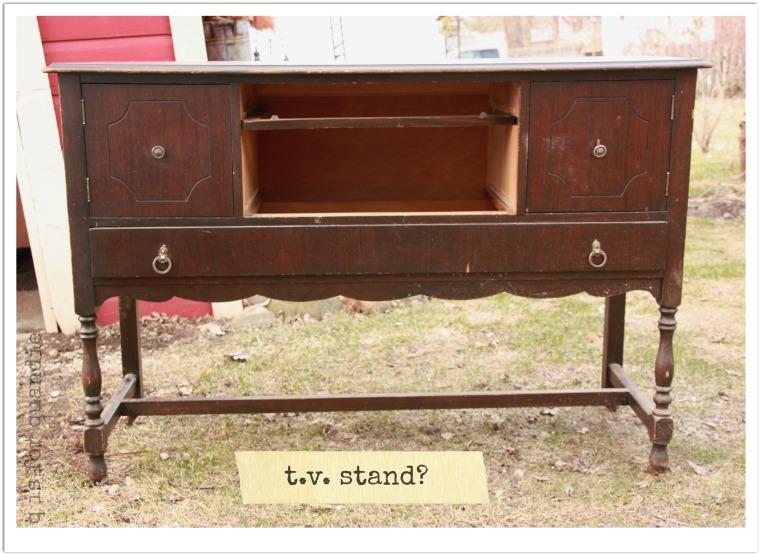 workshop tv stand