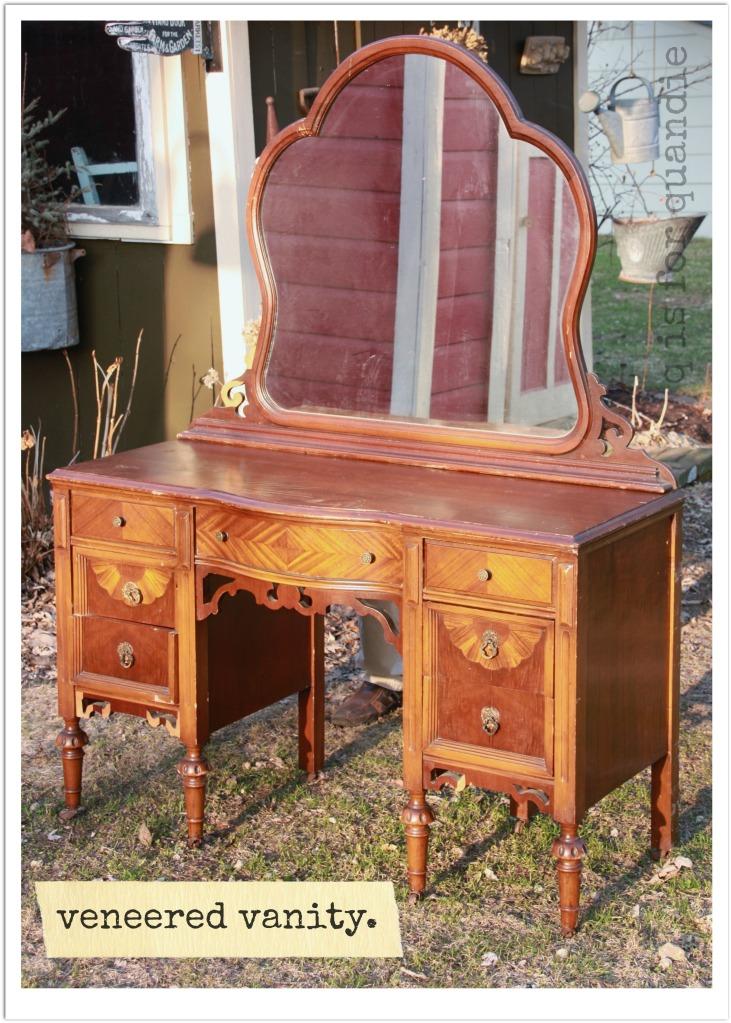 workshop veneered vanity