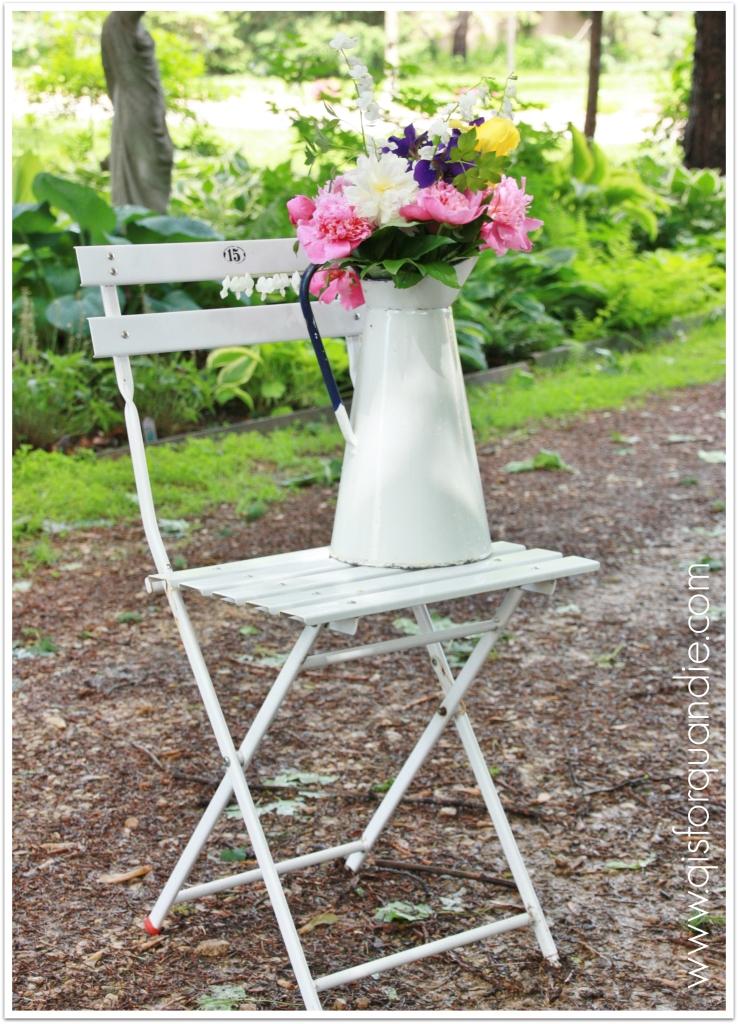 cutting garden full chair