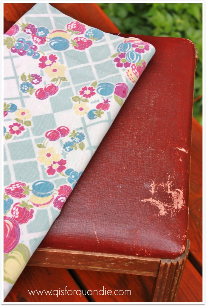 fruity bench fabric