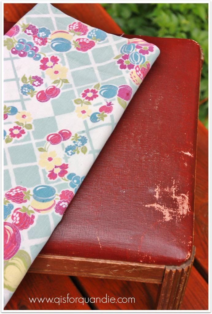 fruity bench fabric