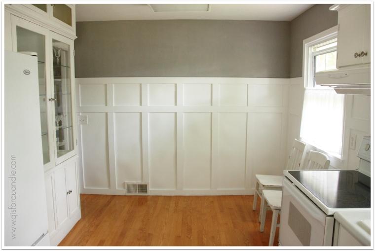 kitchen north wall
