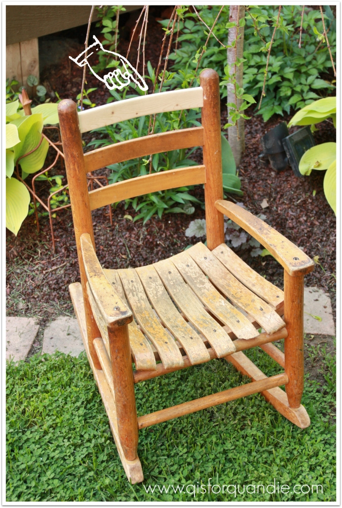 small rocker before