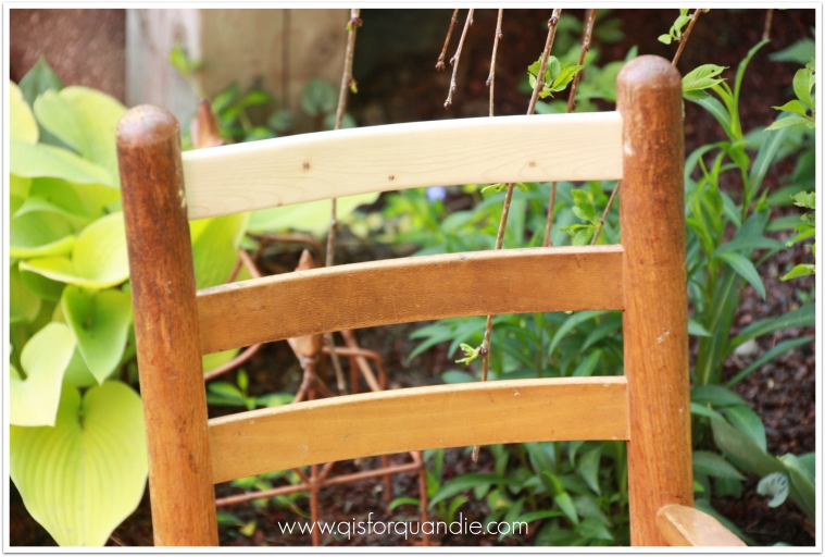 small rocker close up