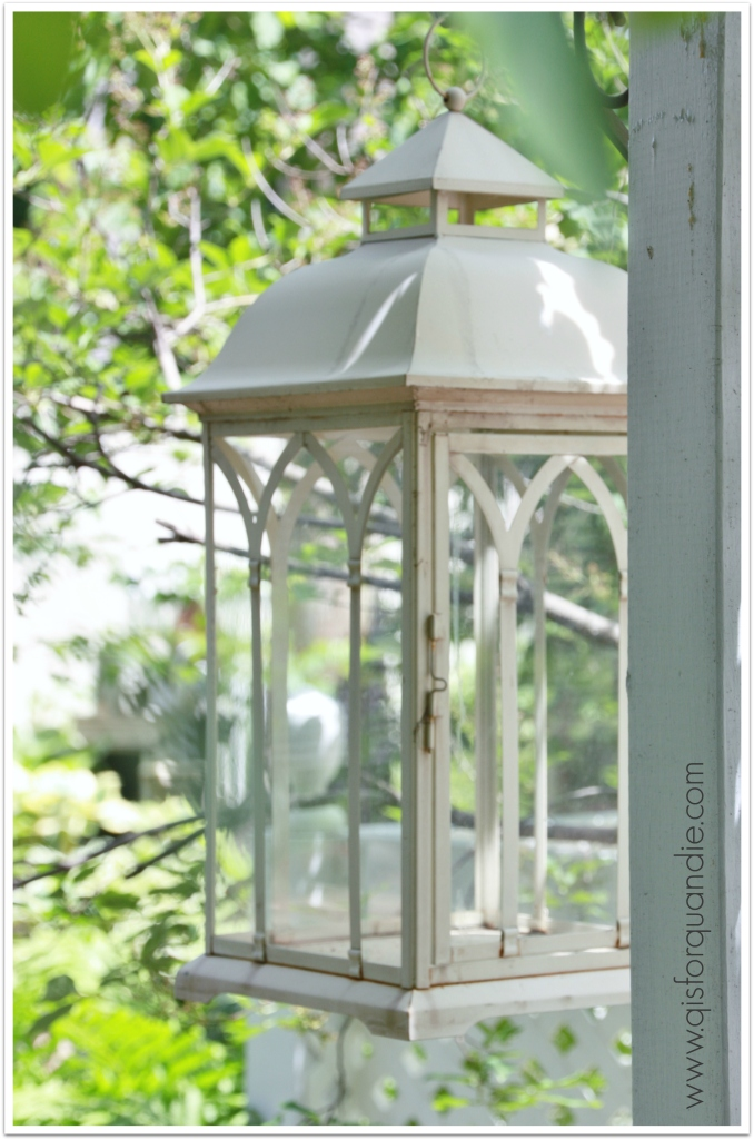 Sue's garden lantern