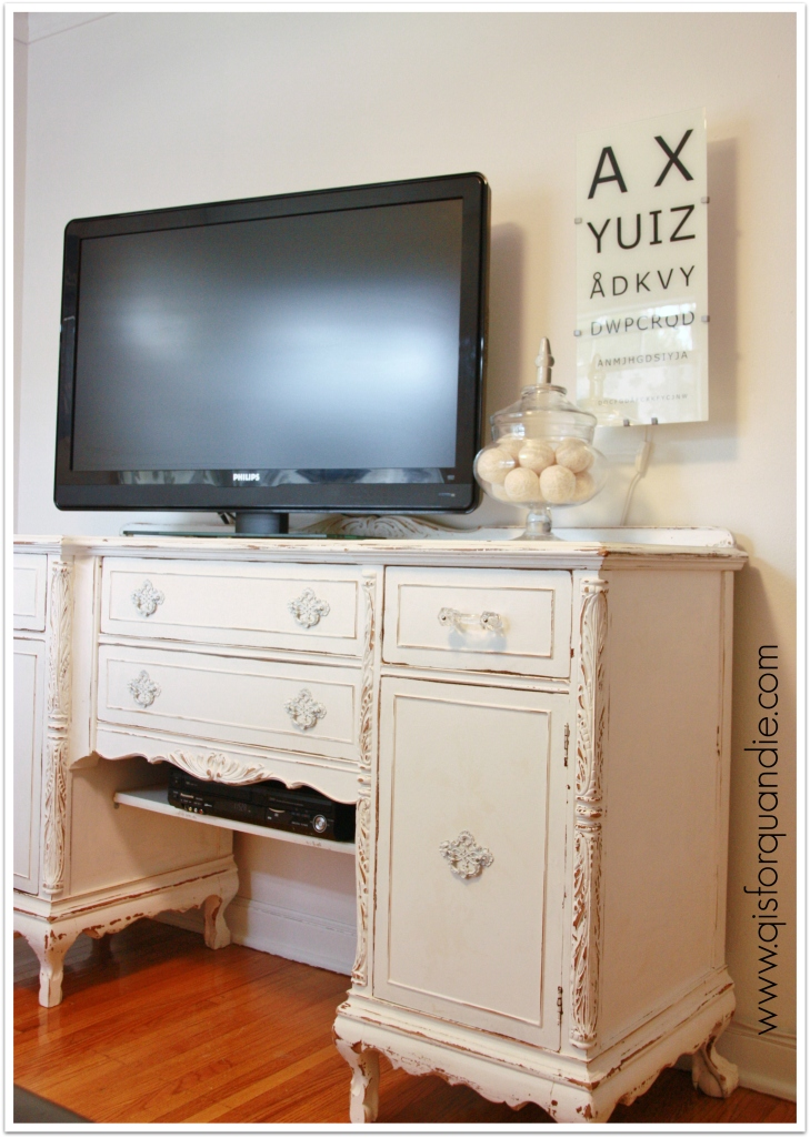 TV room buffet