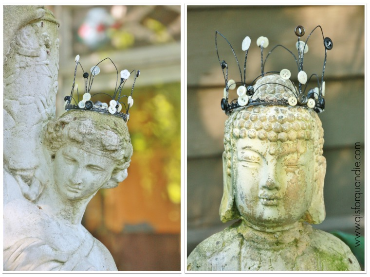 fairy crown collage