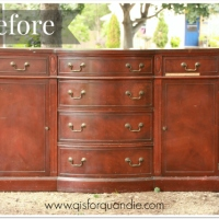 french linen sideboard.