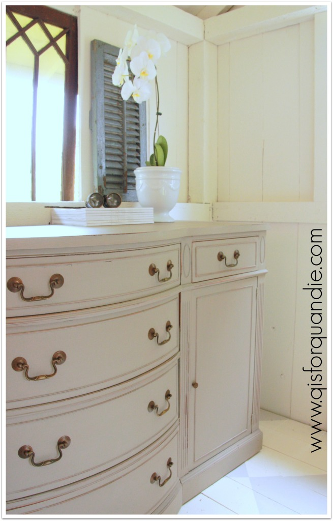 french linen sideboard with shutter