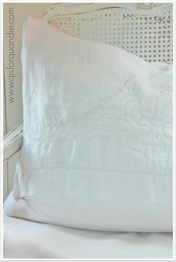 photo studio pillow close up