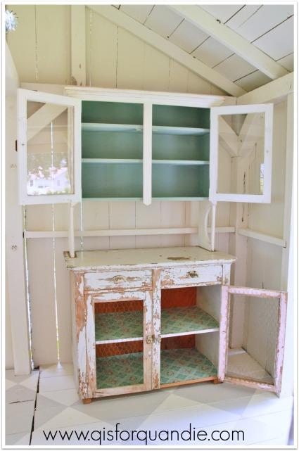 studio cabinet empty