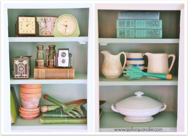 studio cabinet interior