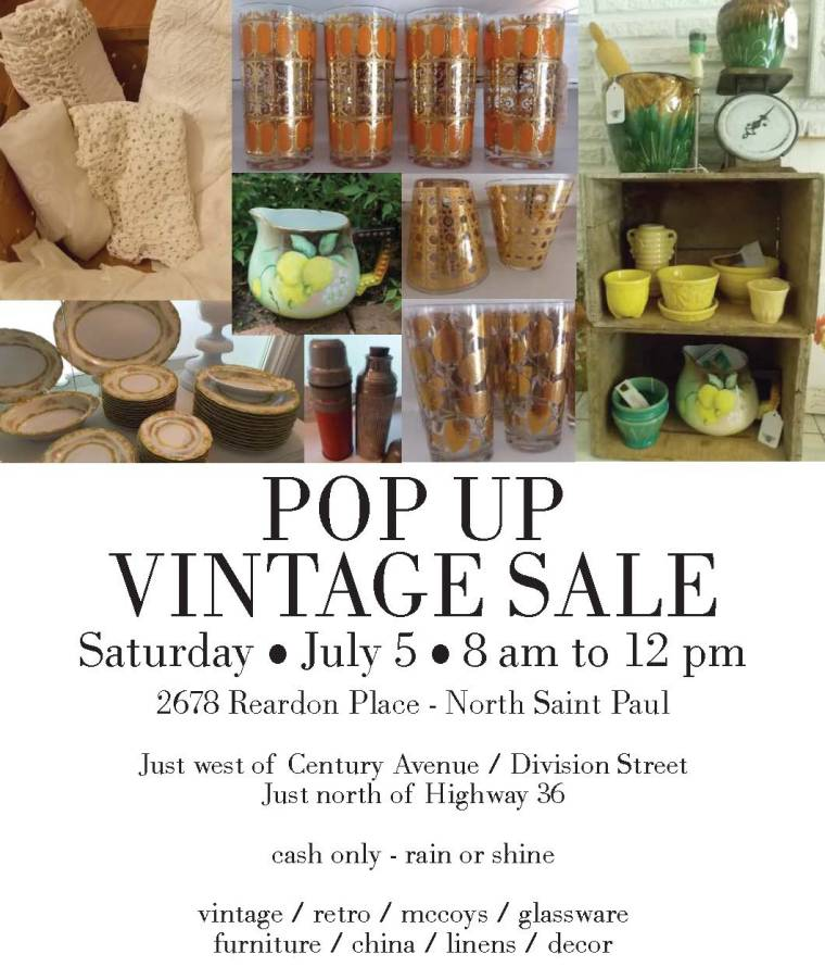 Sue's vintage sale