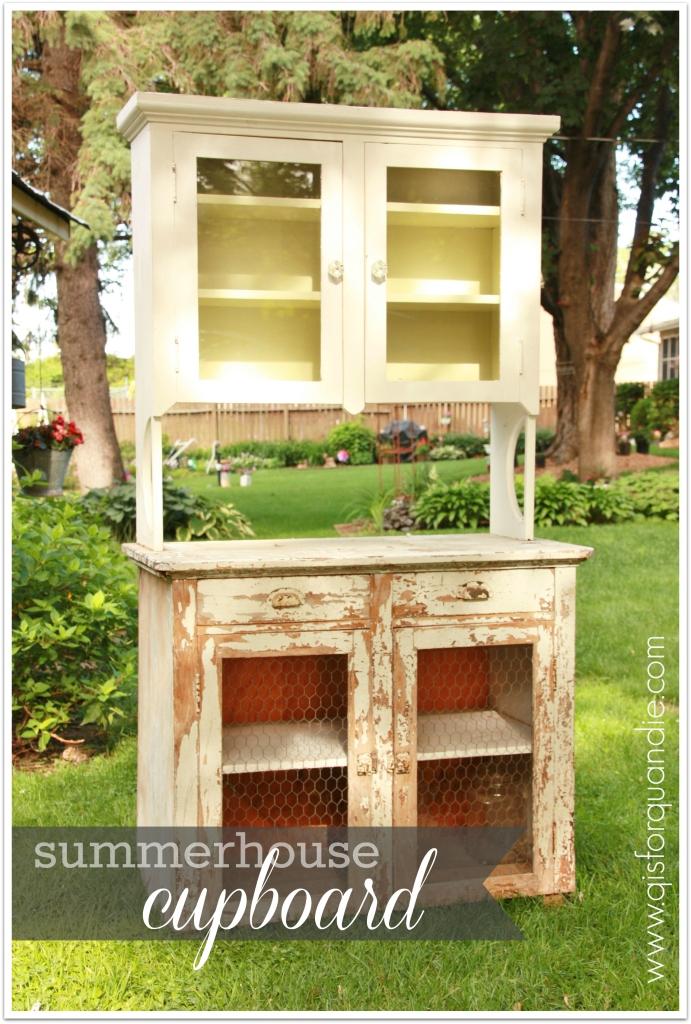summerhouse cupboard before