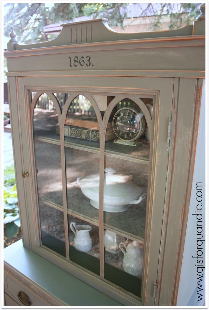 1863 hutch door
