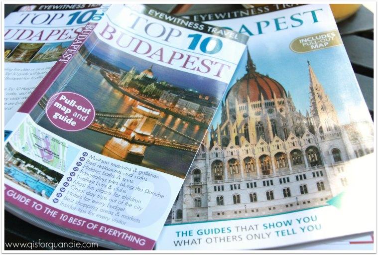 budapest guide books