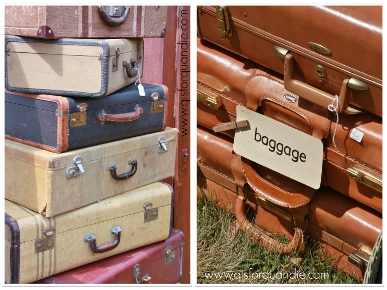 gold rush baggage collage