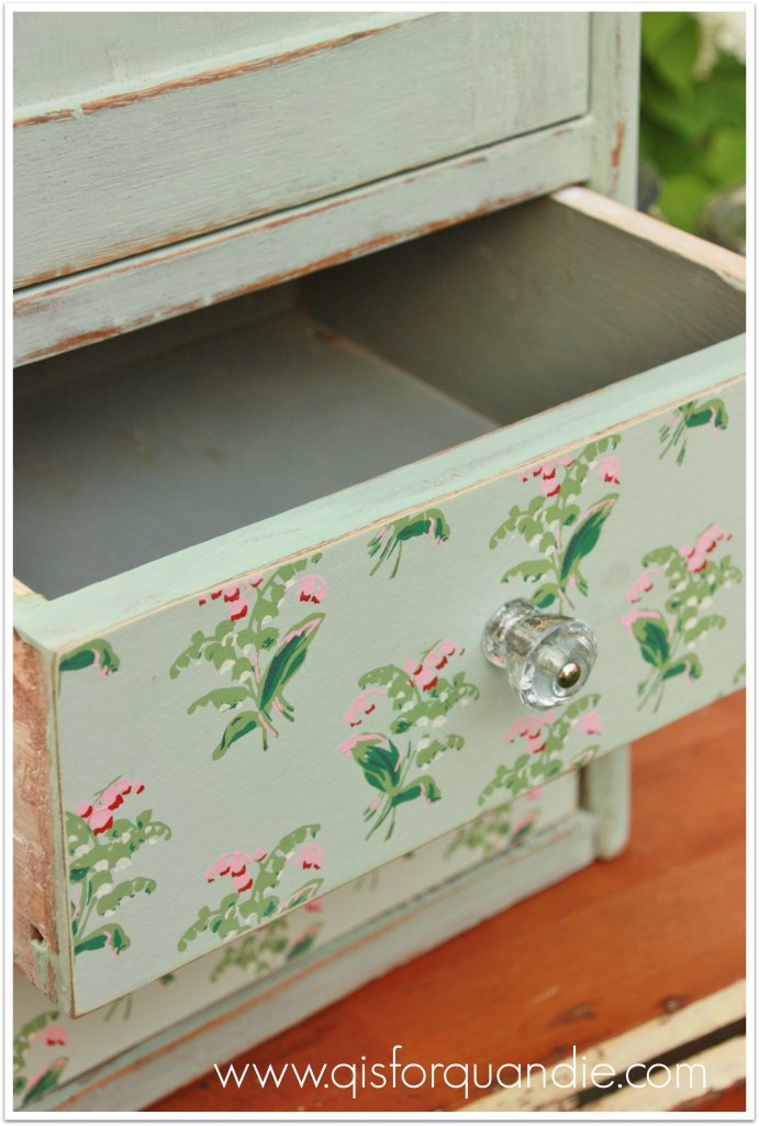 mystery cabinet drawer