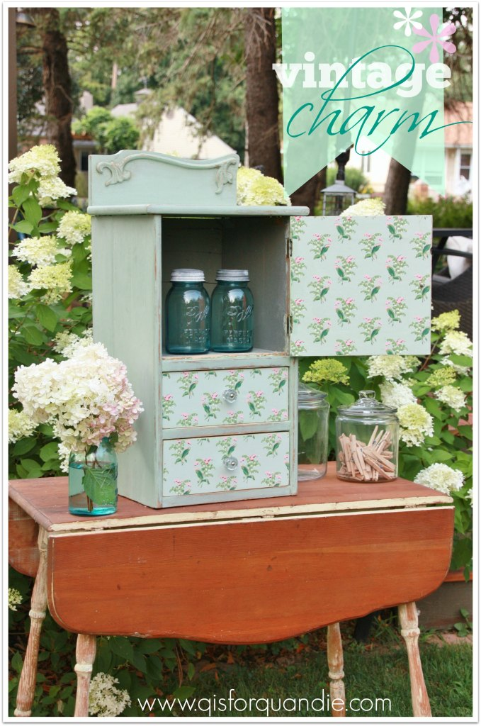mystery cabinet with charm