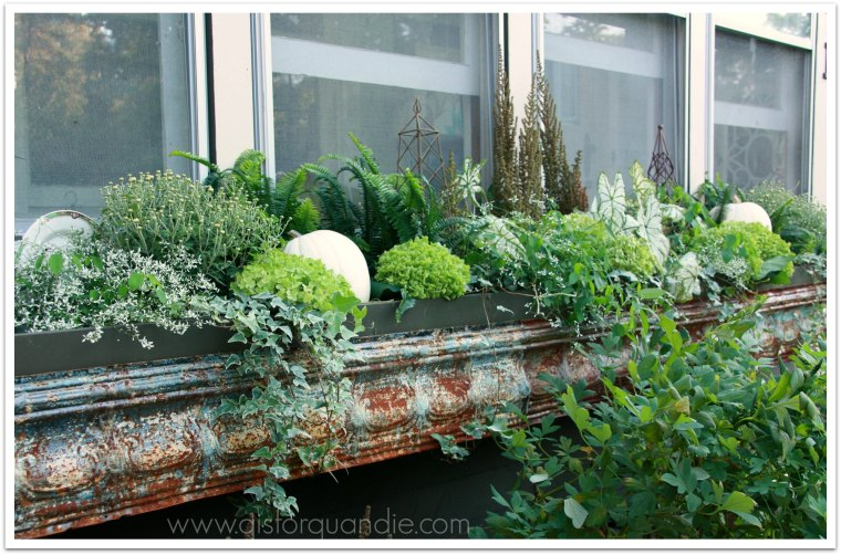full fall window box