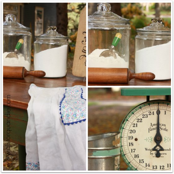 boxwood kitchen collage
