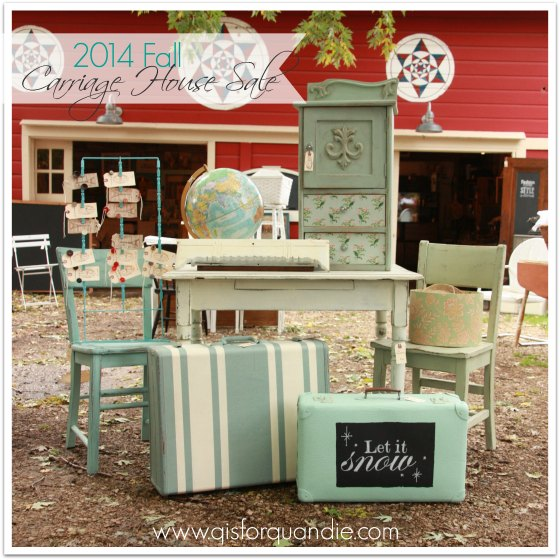 2014 Fall Carriage House Sale
