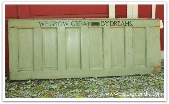 headboard door
