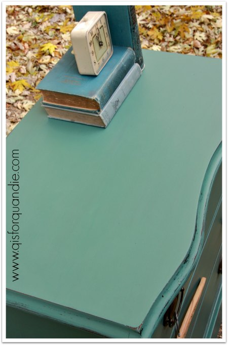 dresser painted with MMSMP in Kitchen Scale