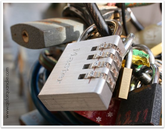 love lock Prague 2