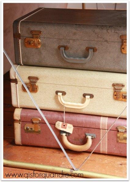 meggan's vintage suitcases