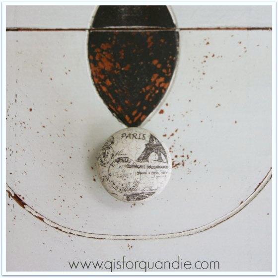 vintage vanity knob