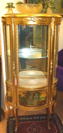 french gold curio