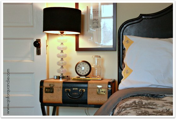 guest room nightstand