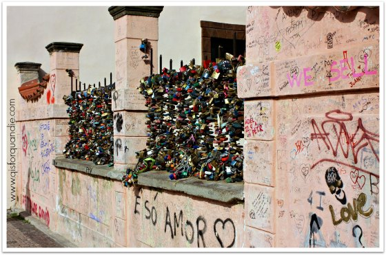 love locks Prague