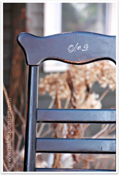 pattys chair detail