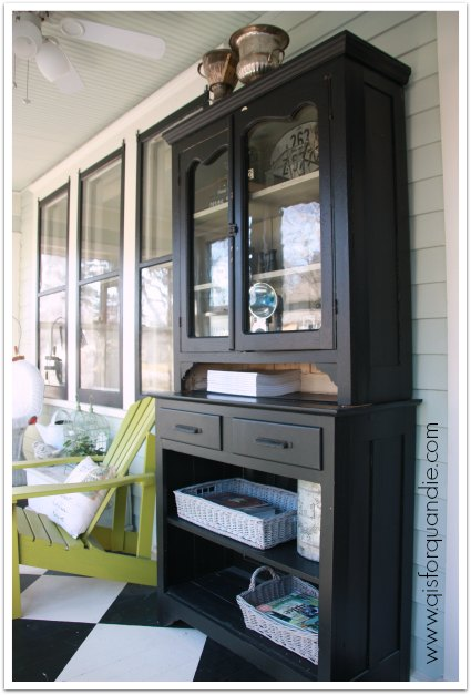front porch cabinet