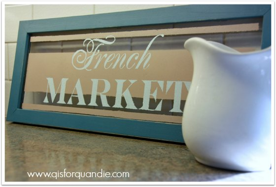 fusion french market sign