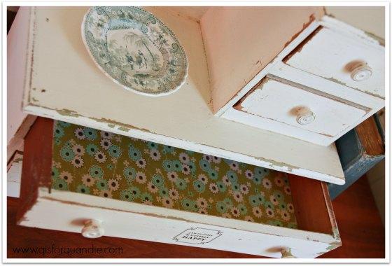 mini drawer lining
